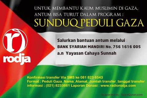 Sunduq Peduli Muslim Gaza