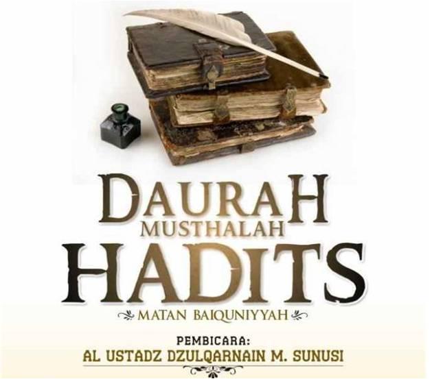 Daurah Musthalah Hadits  membahas Kitab Matan Baiquniyyah