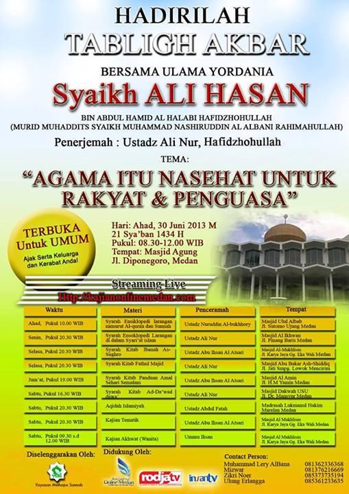 SyaikhAli-Medan20130630