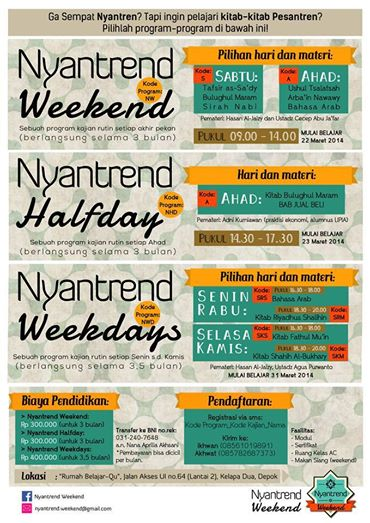 Nyantrend Weekend