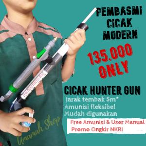 The Cicak Hunter Gun